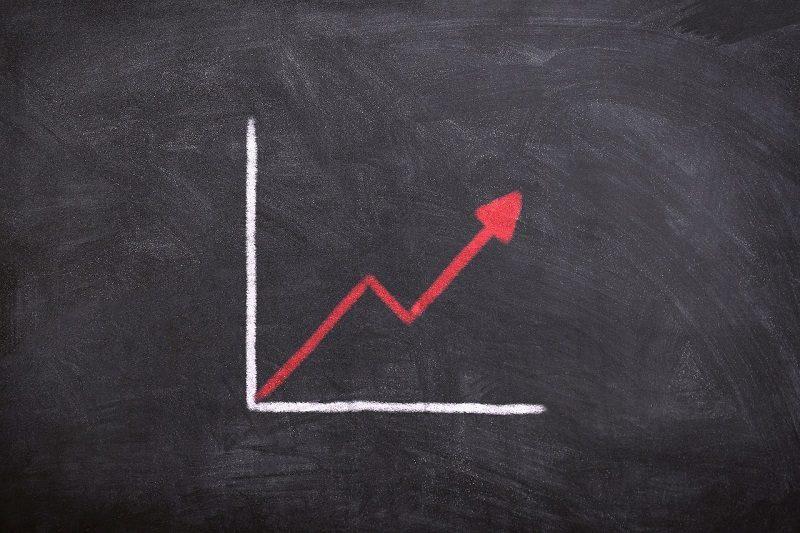 チャートパターン勉強法の黒板